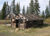Yukon Goldrush Log Cabin