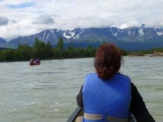 Dezadeash River Canoe Trip, Kluane Park