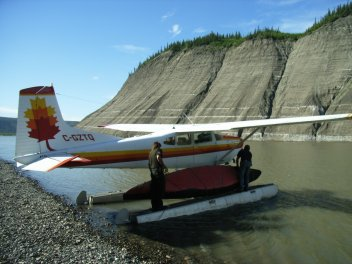 Peel River Taku Bar Float Plane