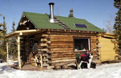 yukon log cabin rental ibex valley whitehorse area. Black Bedroom Furniture Sets. Home Design Ideas
