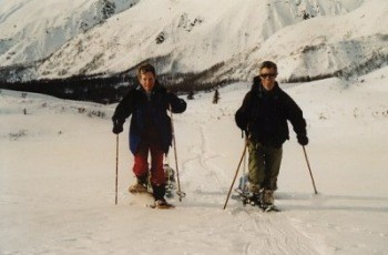 Snowshoing in Kluane National Park